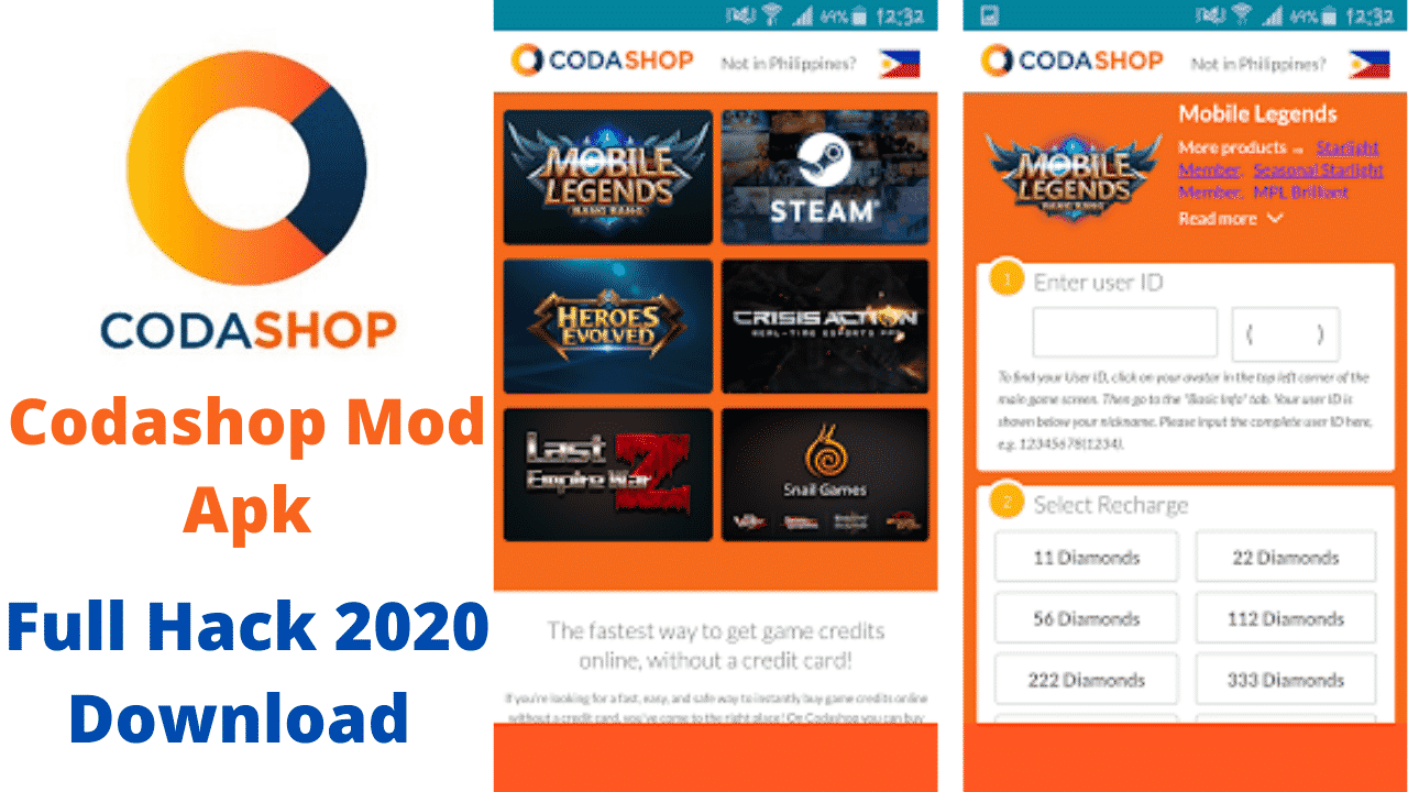 Link-Download-Codashop-Pro